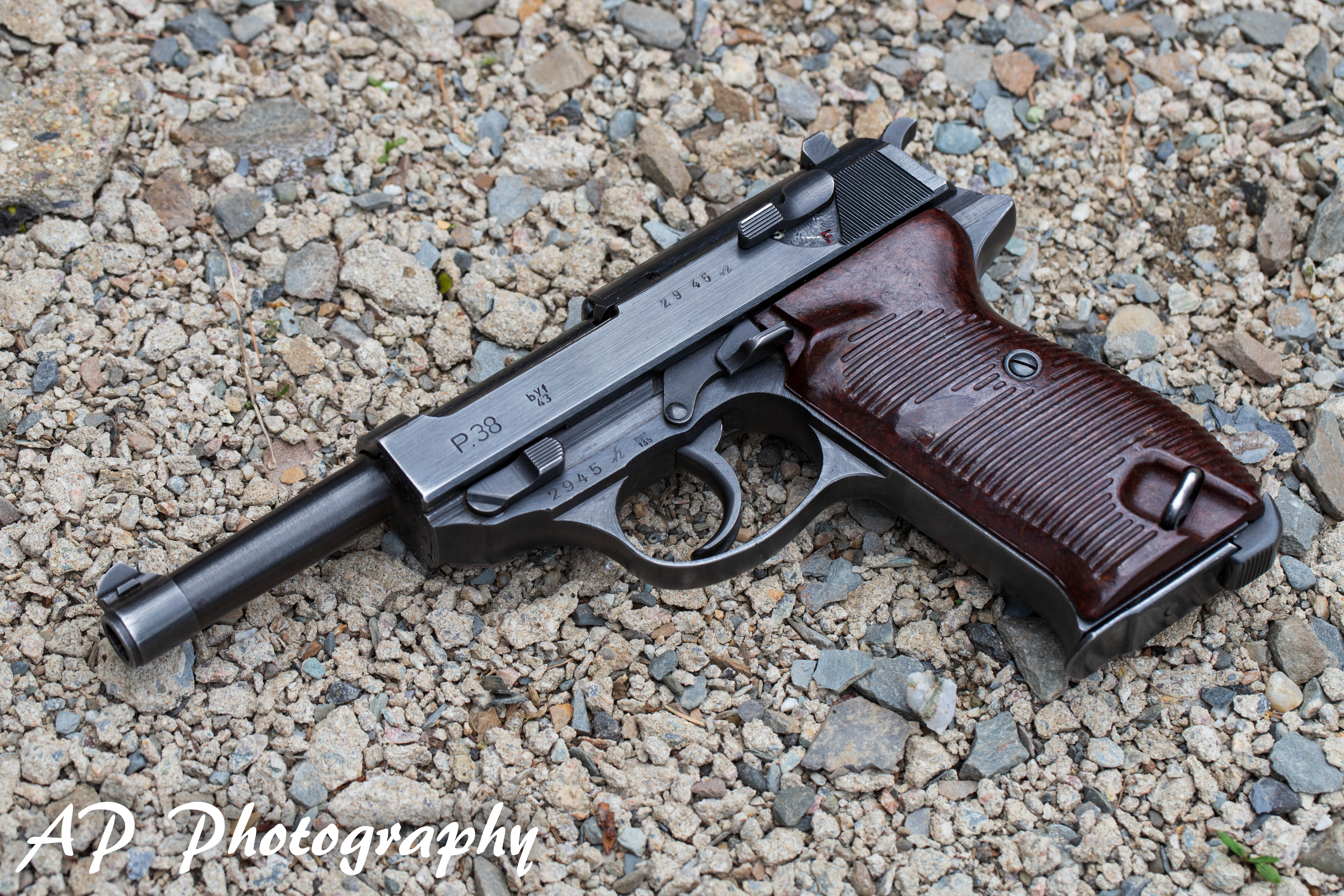 wwii Walther Mauser byf P38