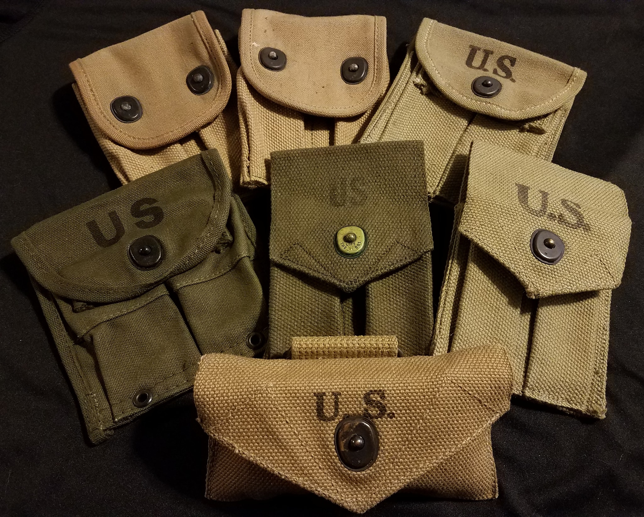 US wwi wwii Mag Pouches