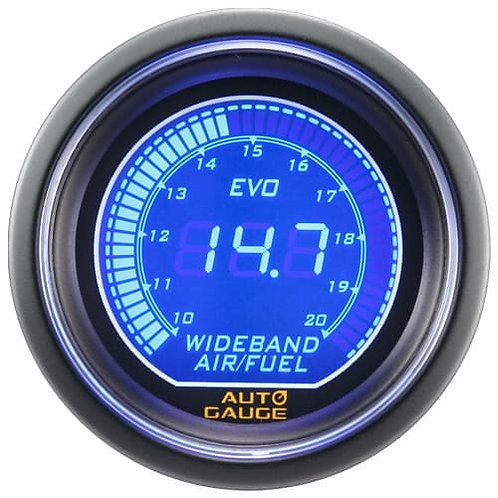 AUTO GAUGE WIDEBAND AFR BLUE/RED