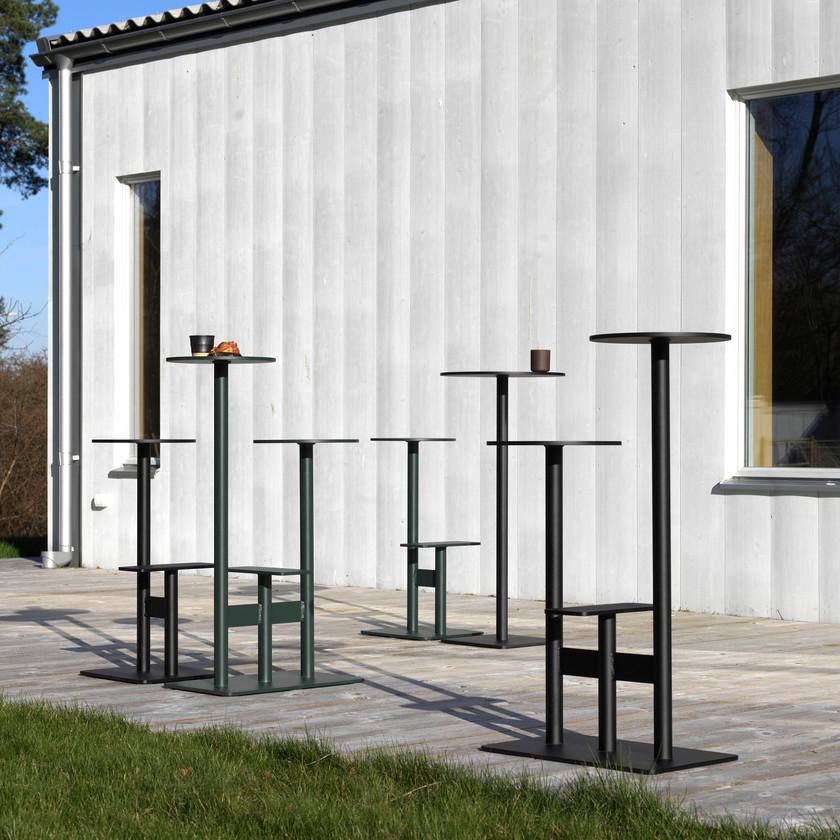Bla Station tables design mange-debout extérieur outdoor COMBO1