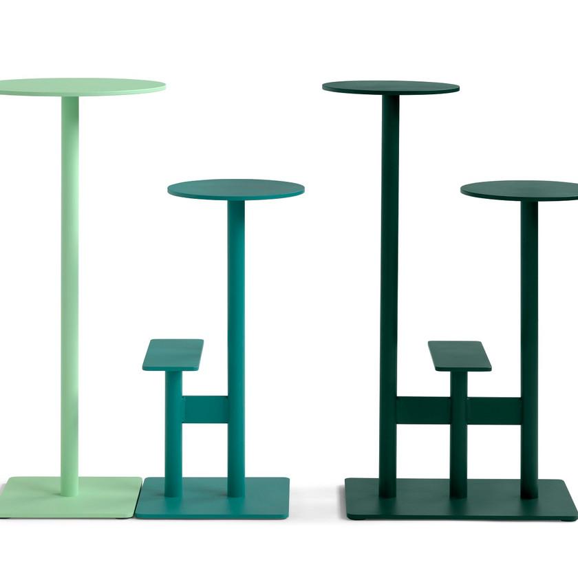 Bla Station tables design mange-debout extérieur outdoor COMBO2