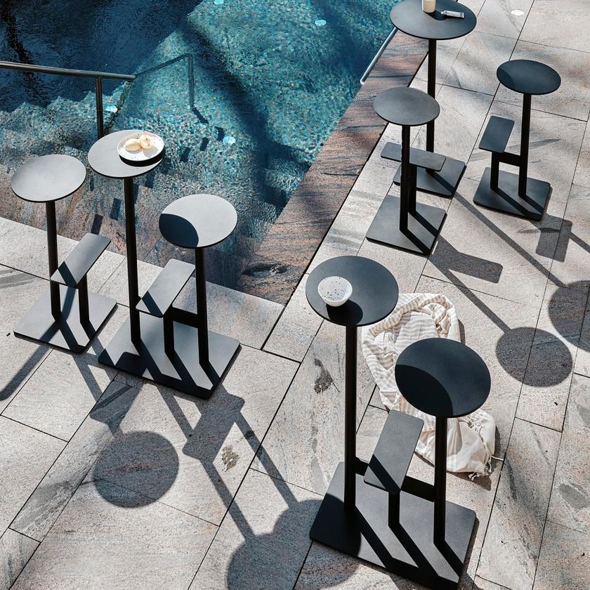 Bla Station tables design mange-debout extérieur outdoor COMBO3