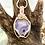 Thumbnail: Round Purple Chalcedony pendant