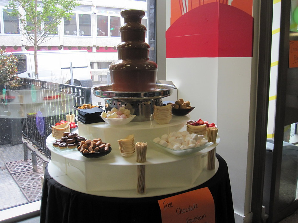 chocolate fountain hire business