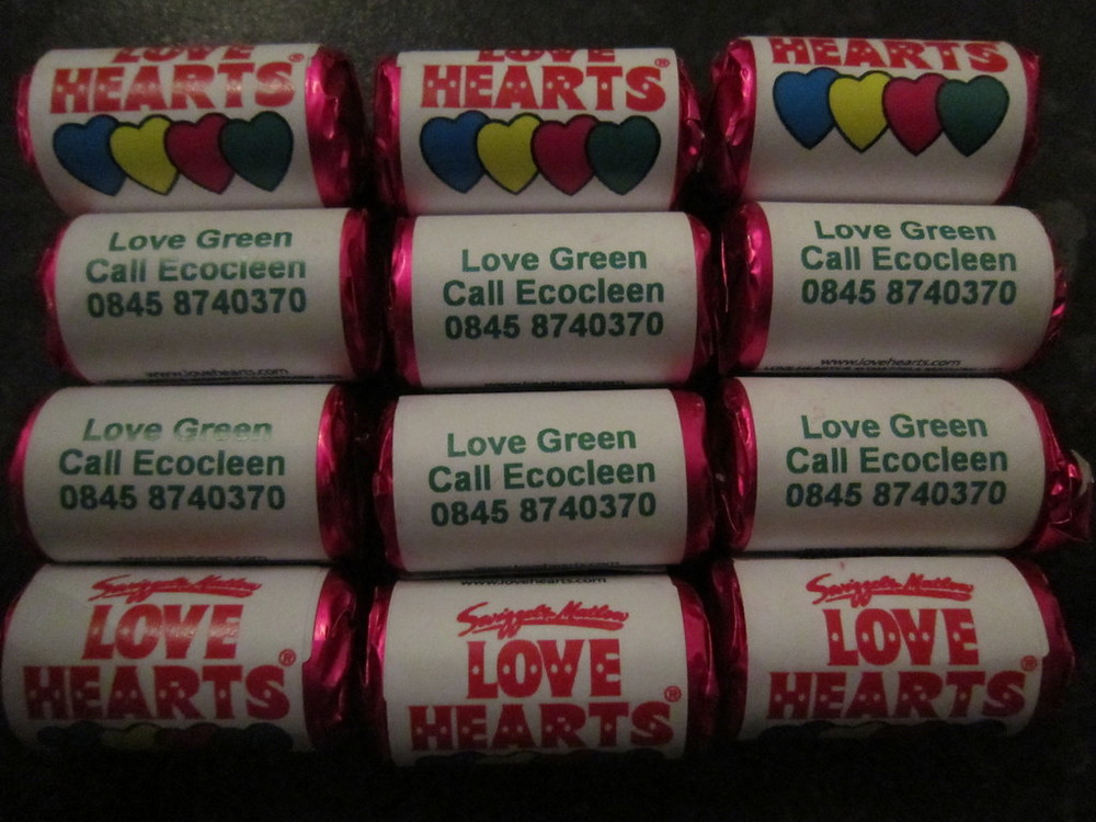 corporate love hearts