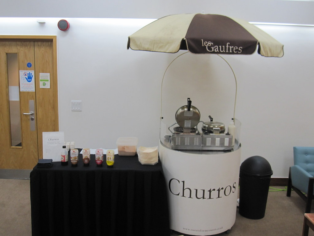 churros cart hire london