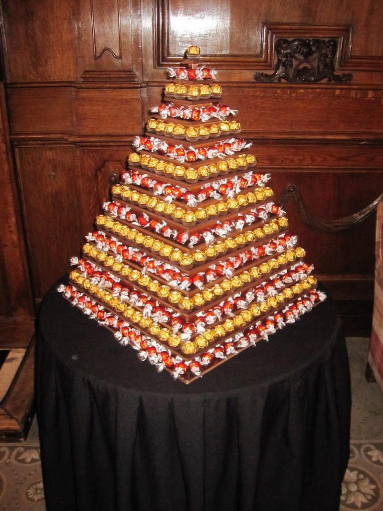 lindt ferrero pyramid hire