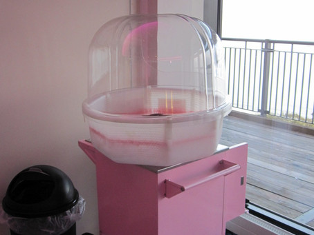 Candy Floss hire London Olympia