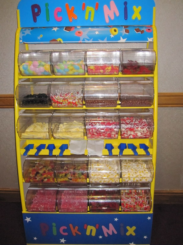 sweets stand event hire