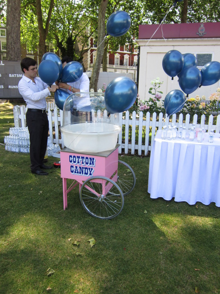 cotton candy hire london
