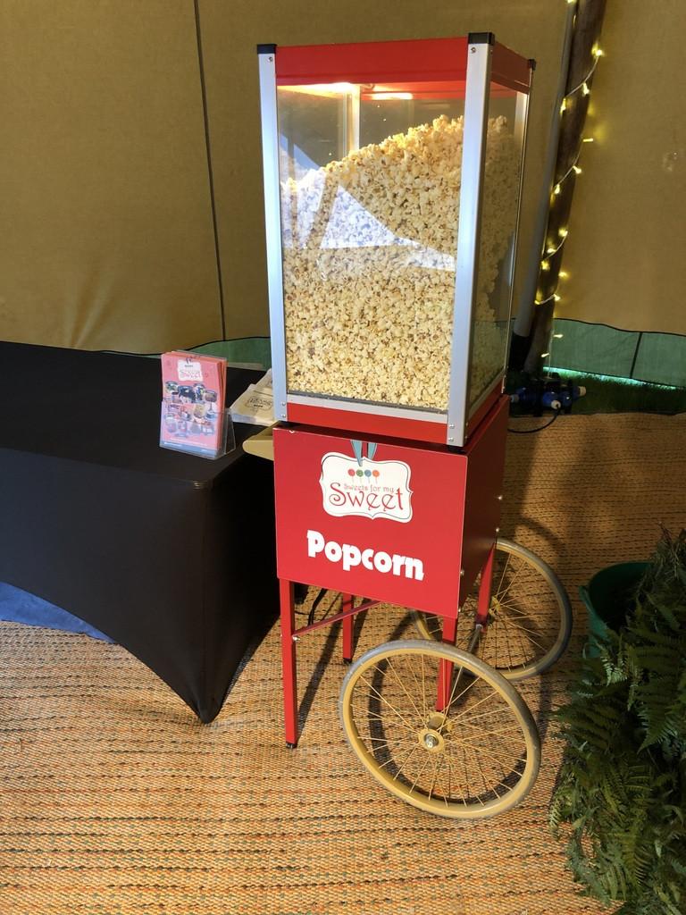 hire popcorn heater