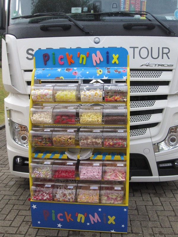 pick n mix stand road show event