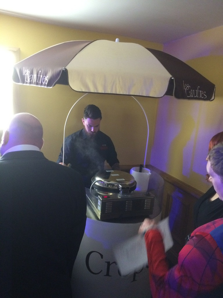 crepes event hire