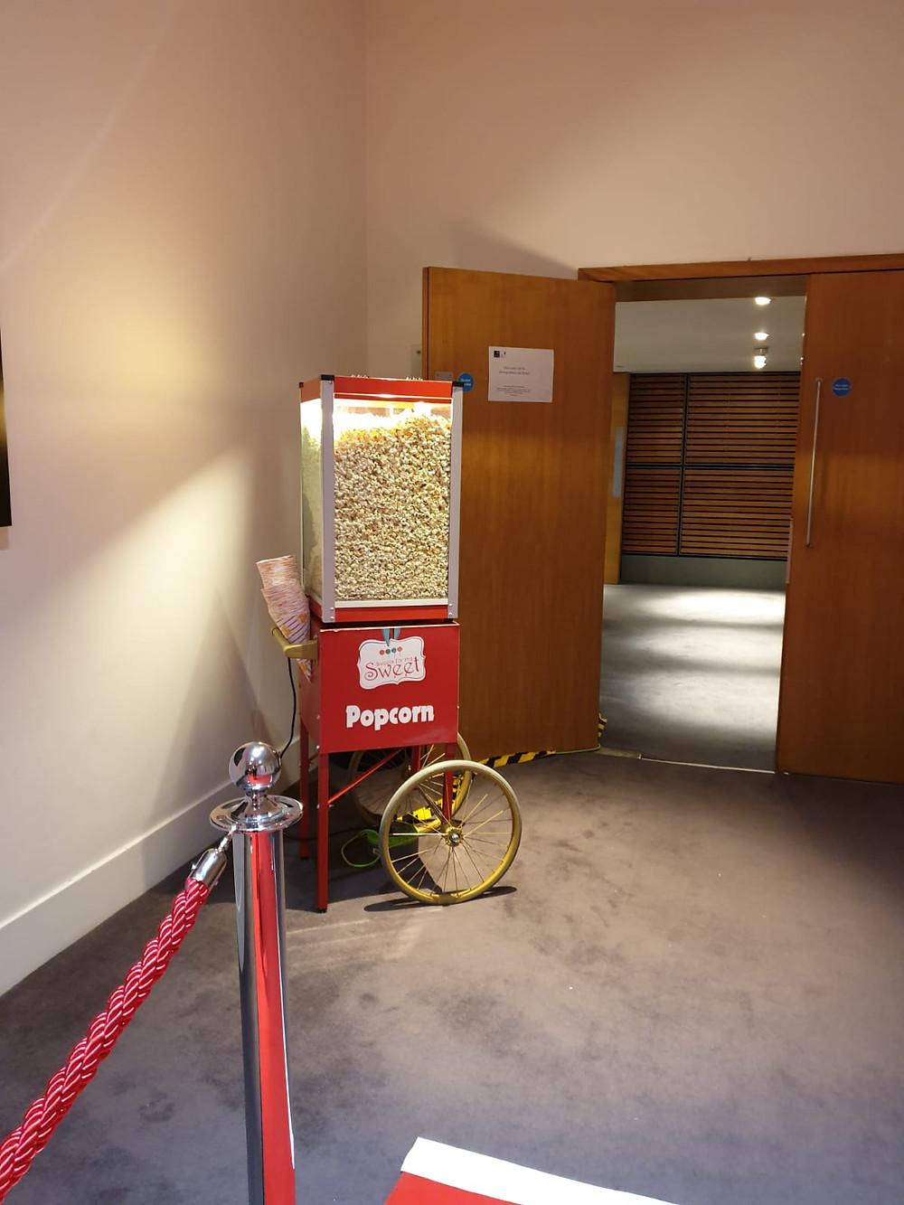 sweet popcorn hire london
