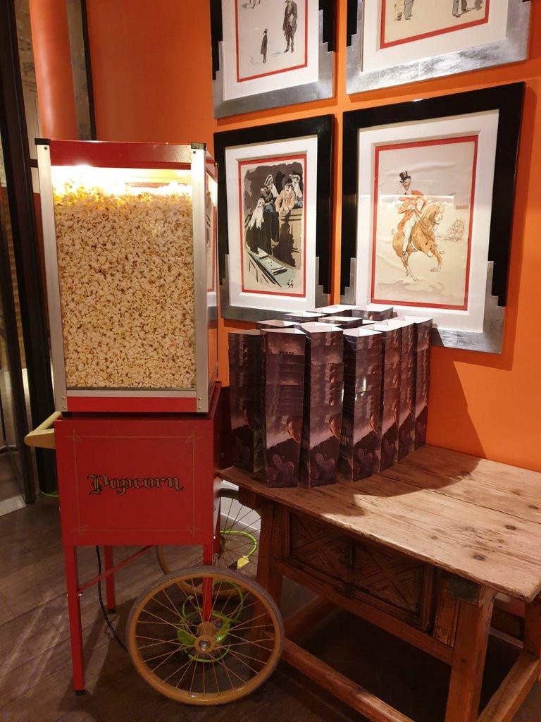 popcorn event hire