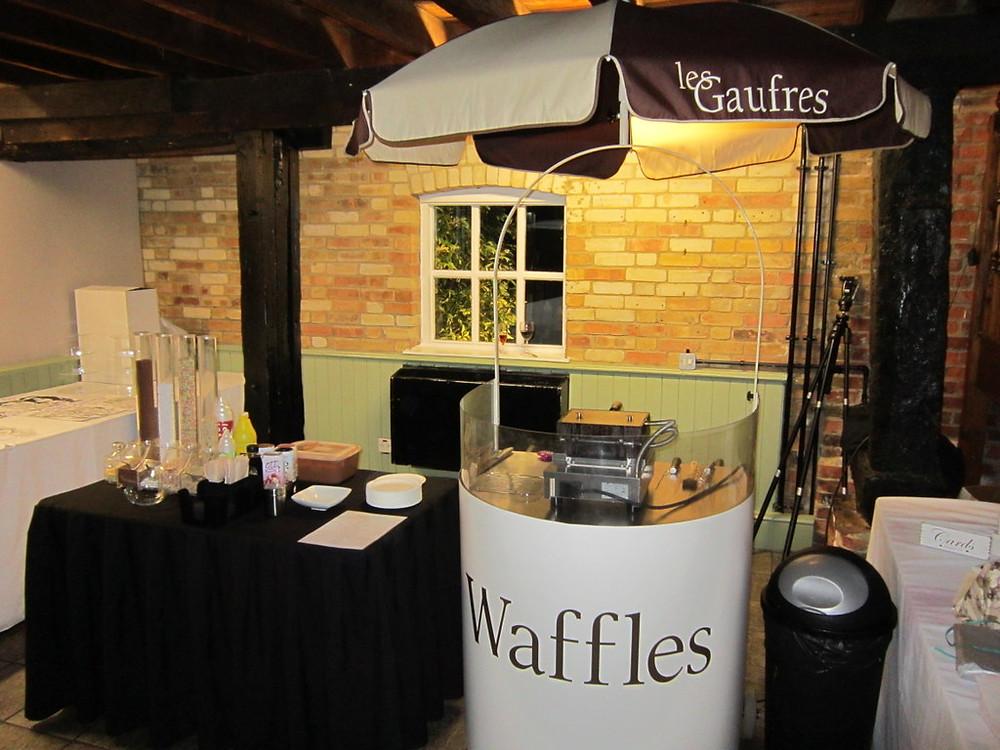 waffle maker hire kent