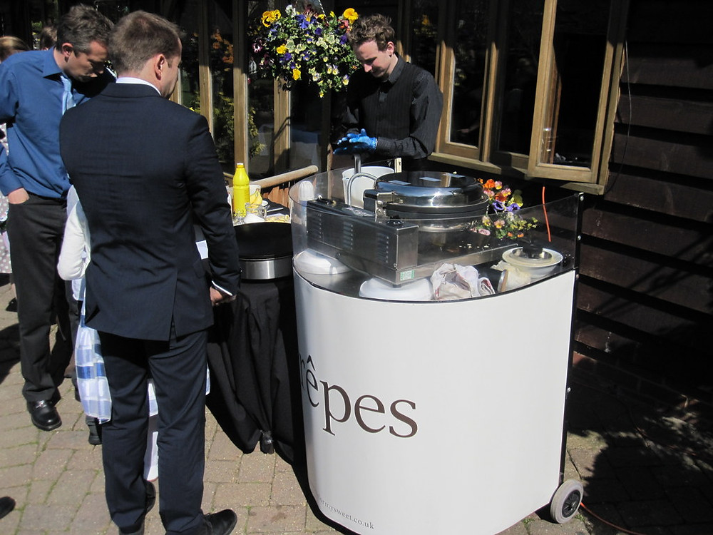 crepe wedding hire