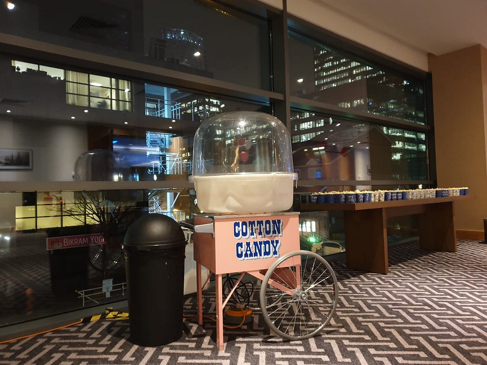 candy floss hire central london