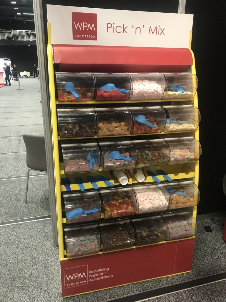branded london sweet machine hire