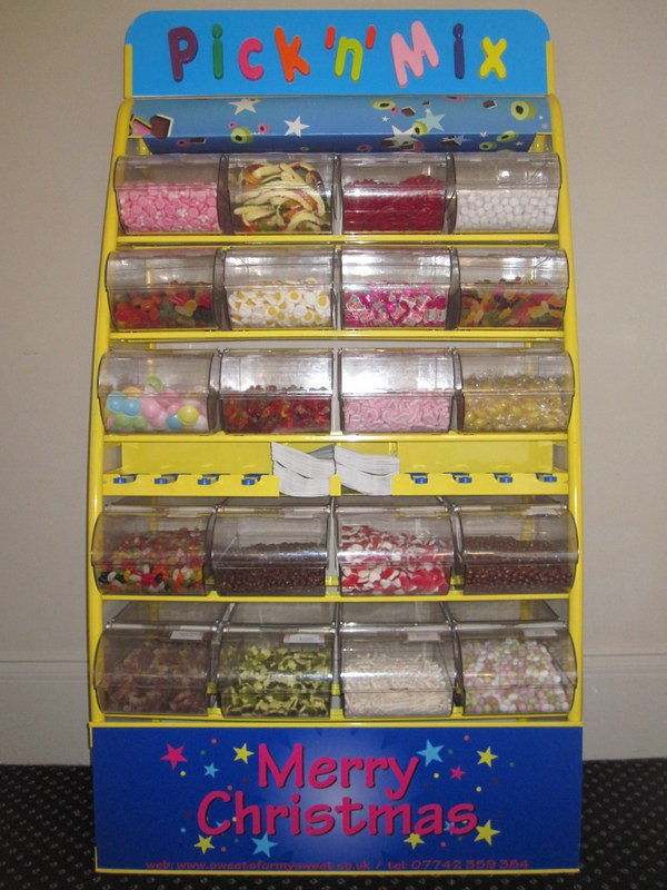 christmas pick and mix sweets hire de vere