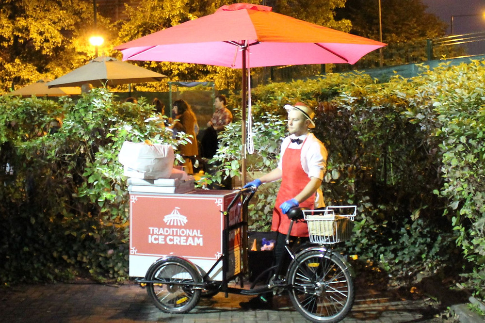 ice cream tricycle hire London