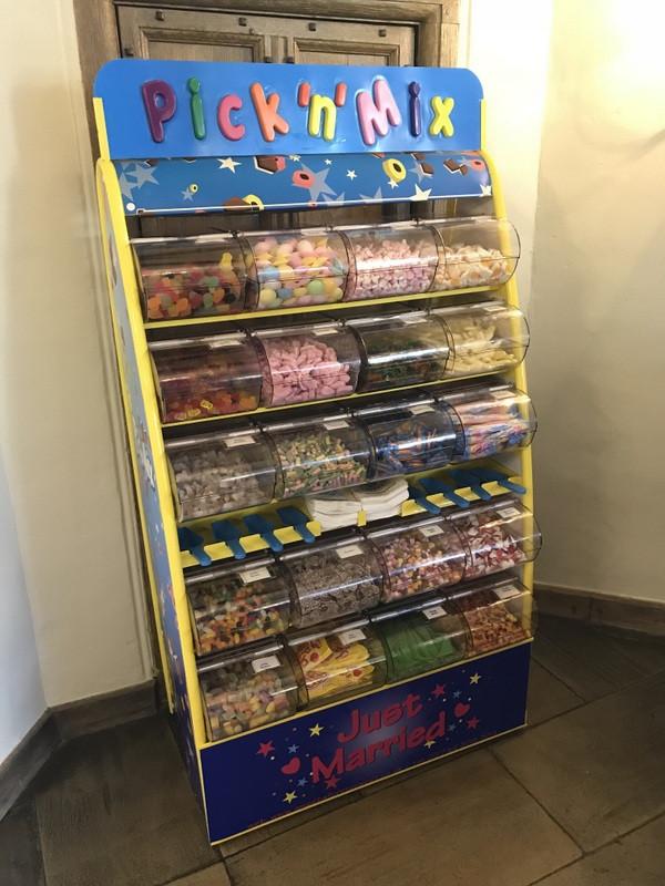 leeds castle sweets hire