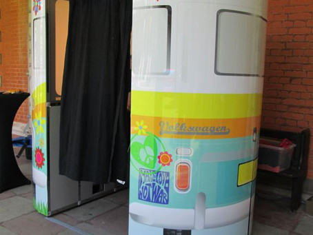 photo booth hire - campervan