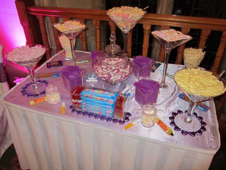 retro sweet table london