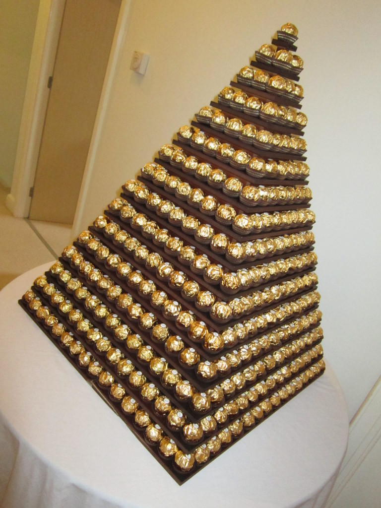 ferrero rocher pyramid hire london