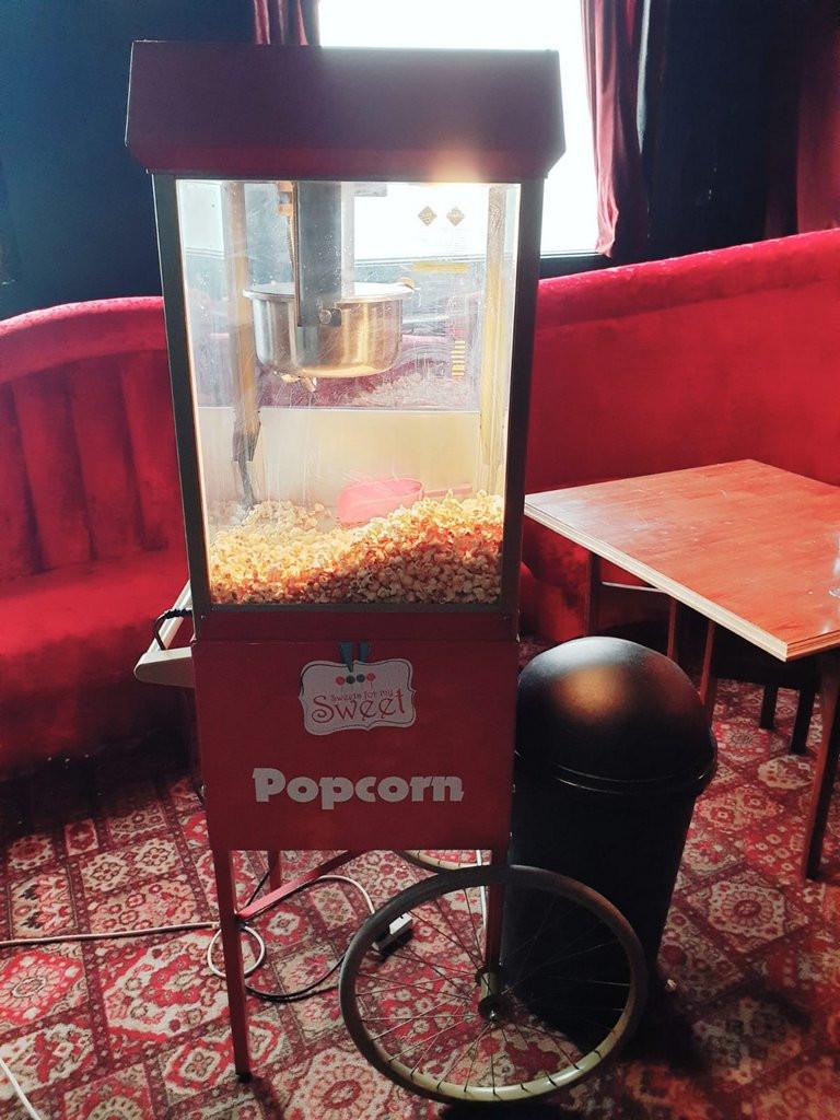hire a popcorn cart