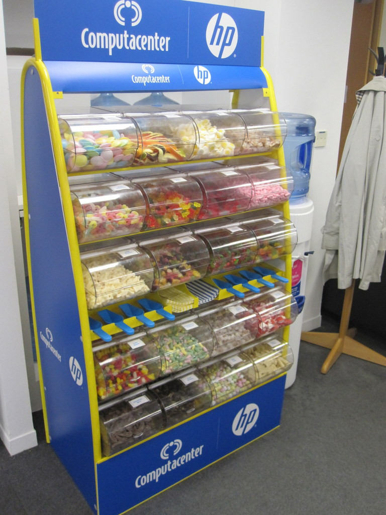 corporate pick n mix stand