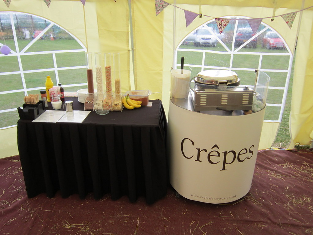 crepe event hire
