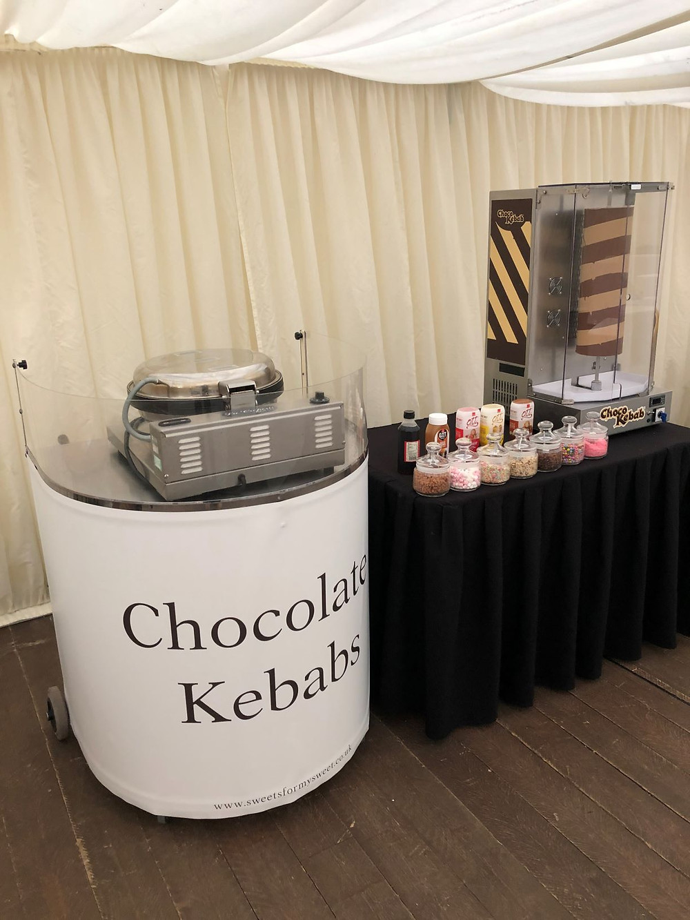 chocolate kebab vertical