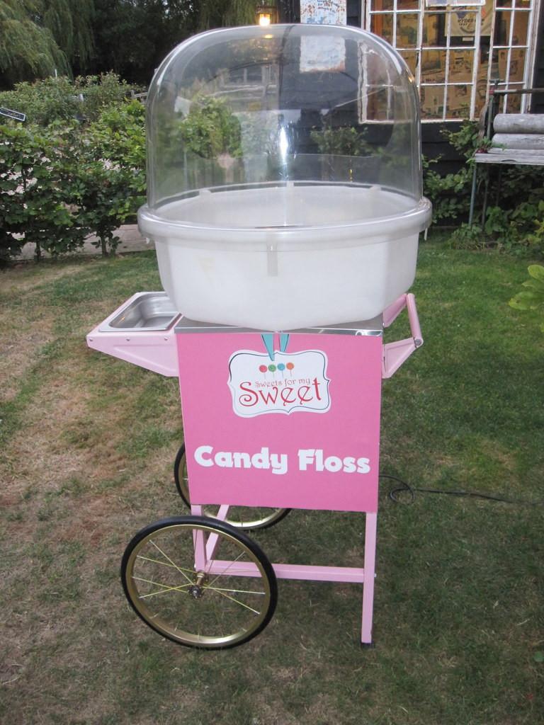 candy floss cart hire essex
