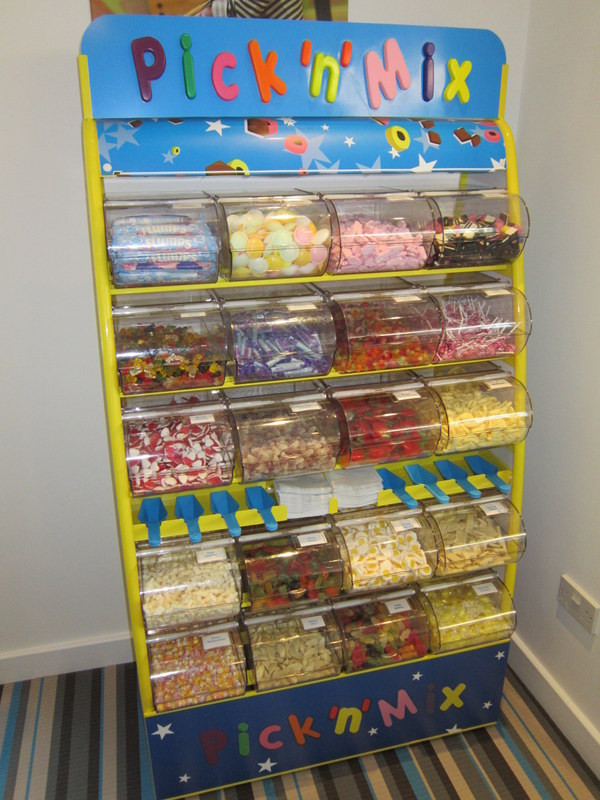 sweets trolley pick mix