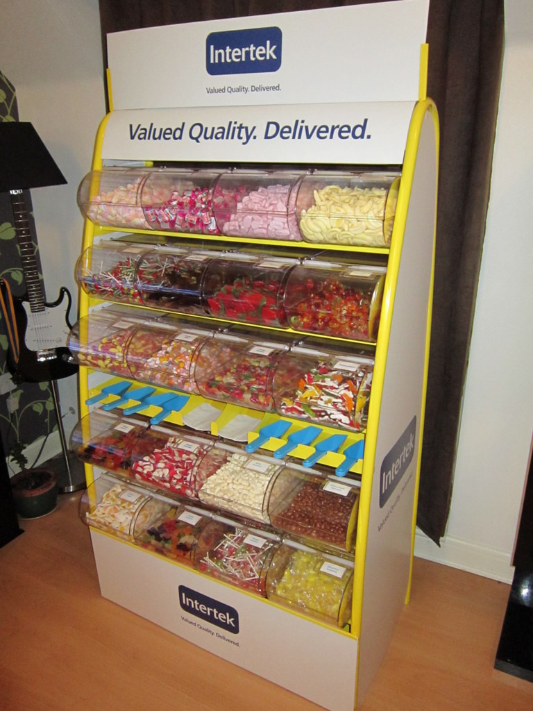 branded pick n mix olympia