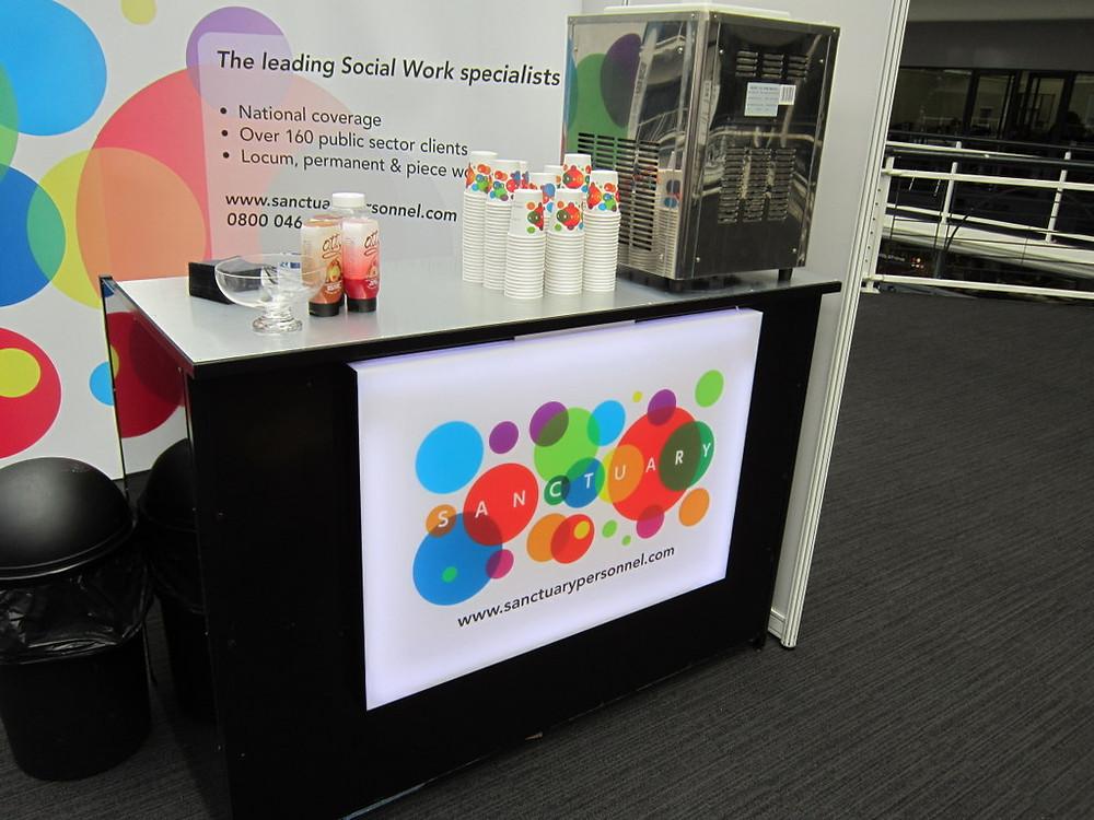 branding ice cream machine hire