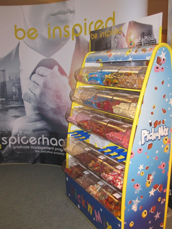 pick n mix stand london exhibition