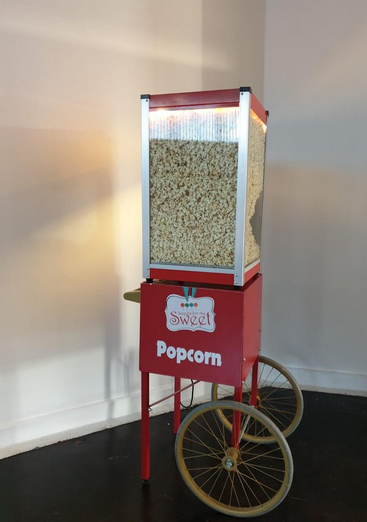 popcorn warmer hire london