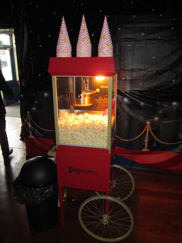 popcorn machine hire essex