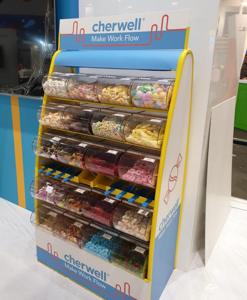 sweets with branding at excel
