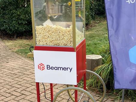 branded popcorn carts