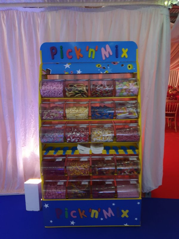 Pick n Mix hire Ricoh Arena