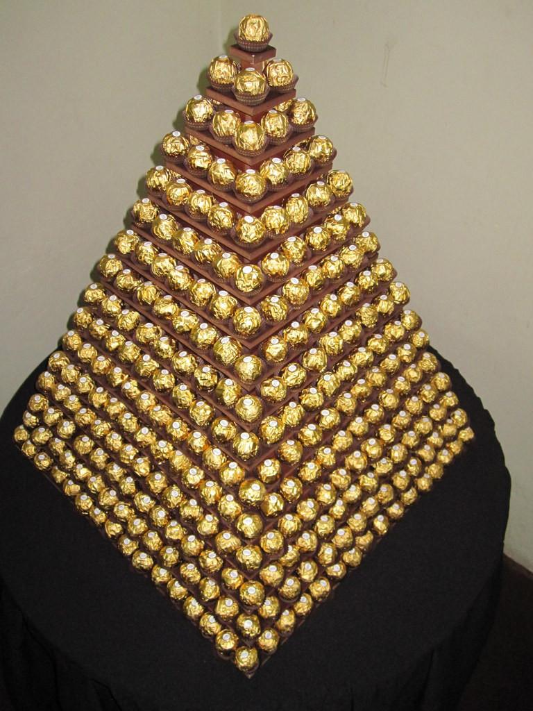 ferrero pyramid tower hire