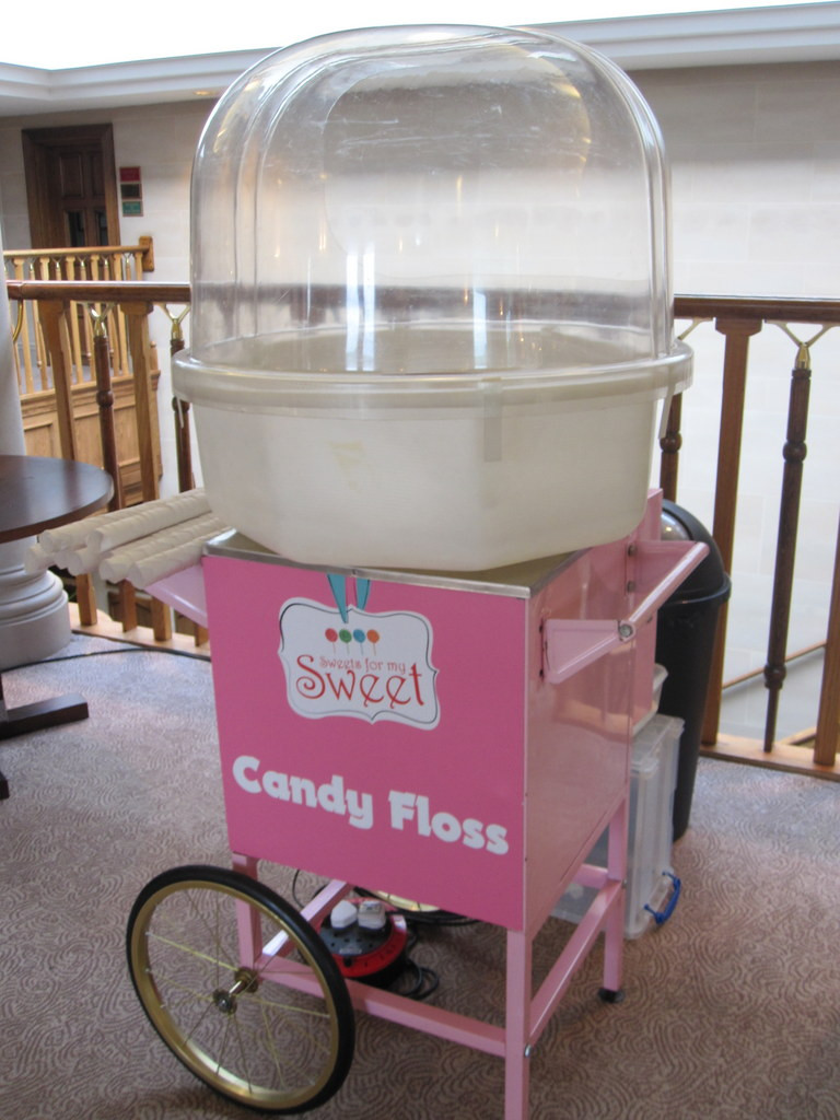london candy floss hire