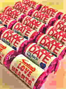Branded Love Hearts - Blind Date TV show