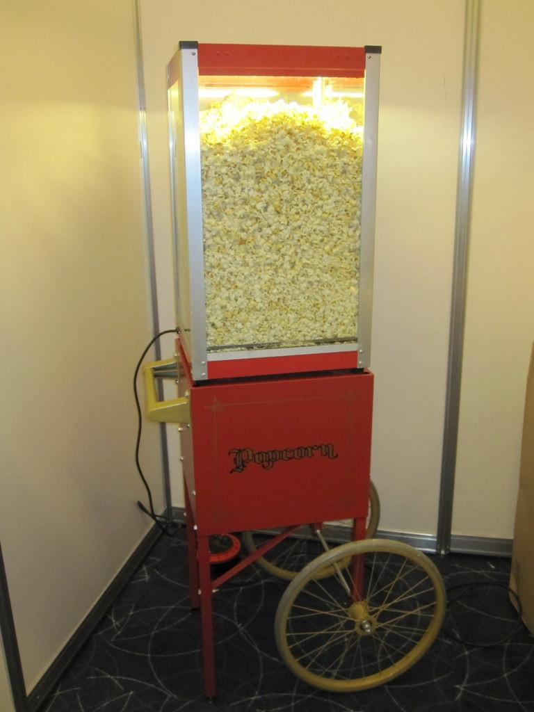 popcorn heater hire kent