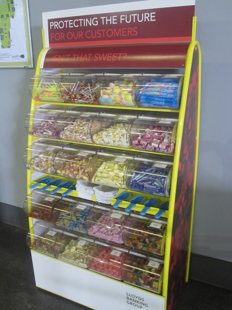hire branded sweet stand