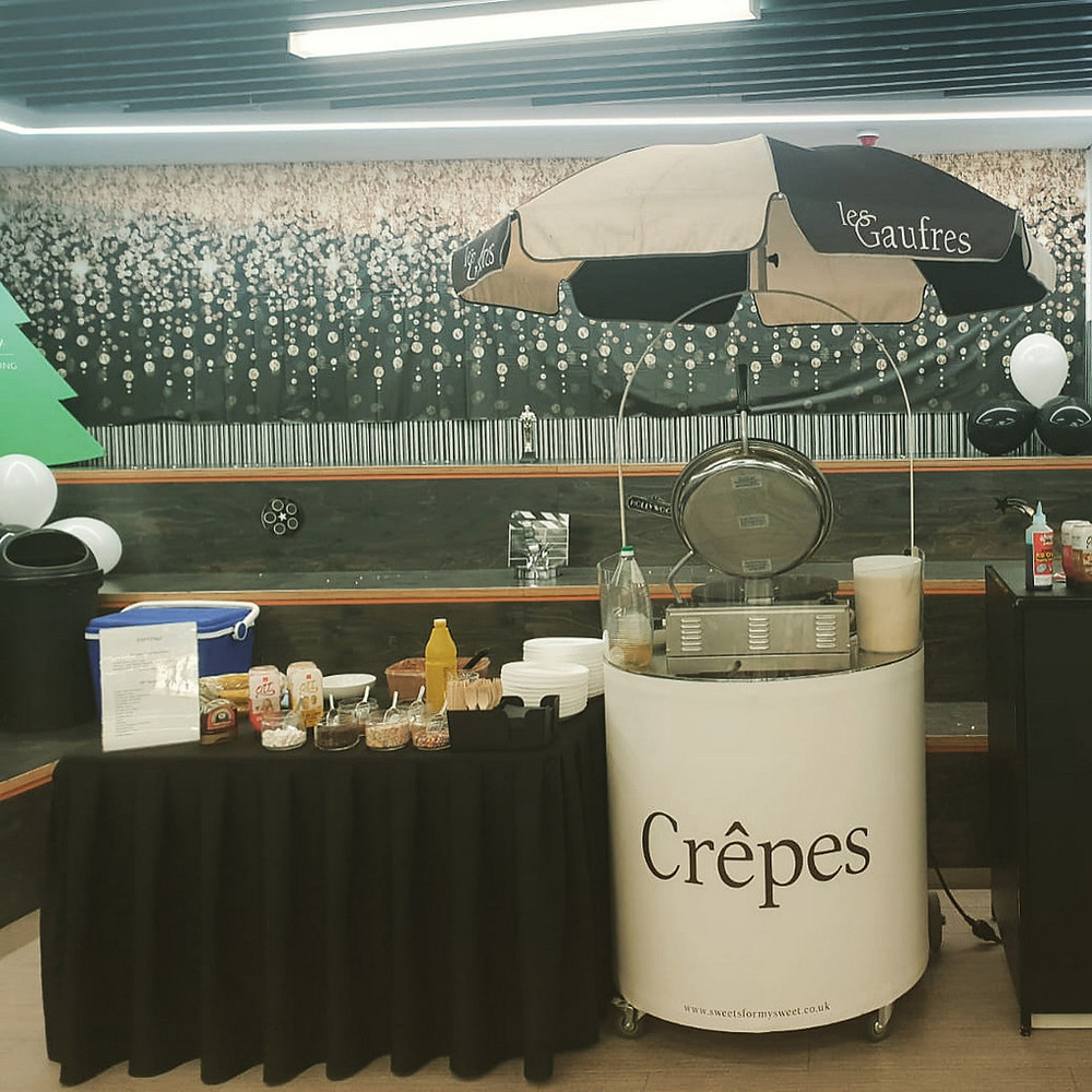 crepe cart hire central london
