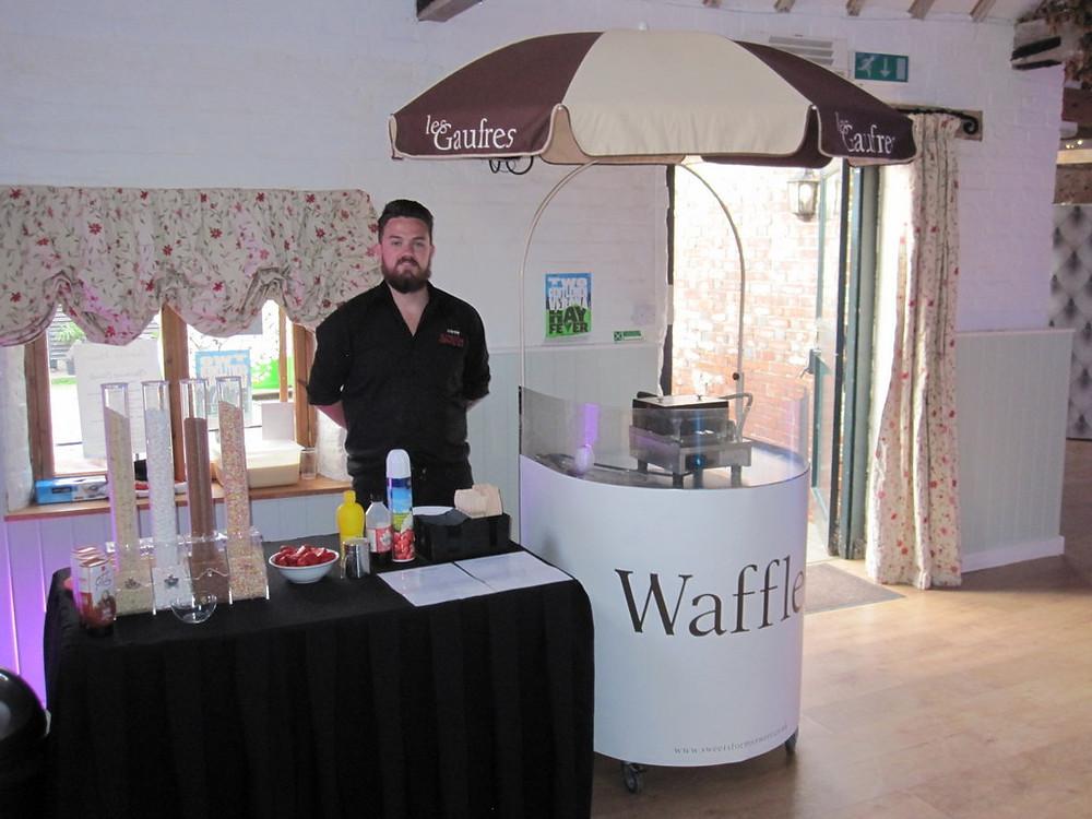 waffle machine hire kent